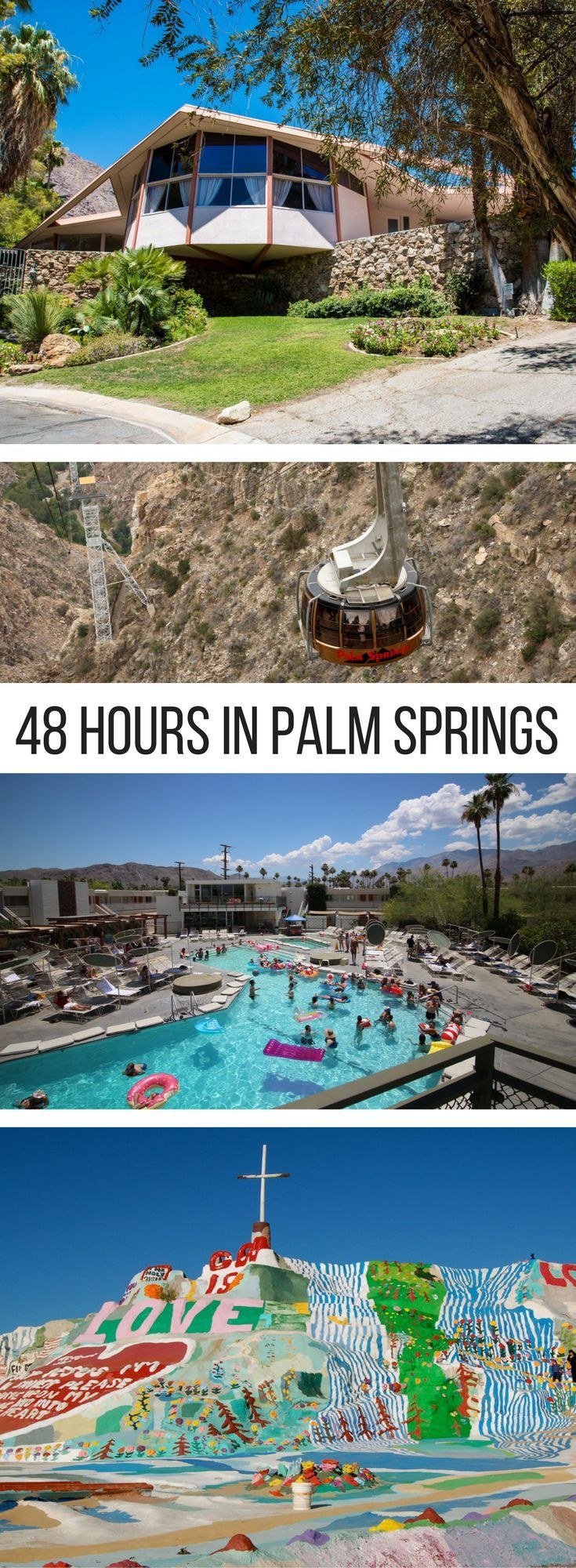 Hot springs, folk art, and Elvis: 48 Hours in Palm Springs