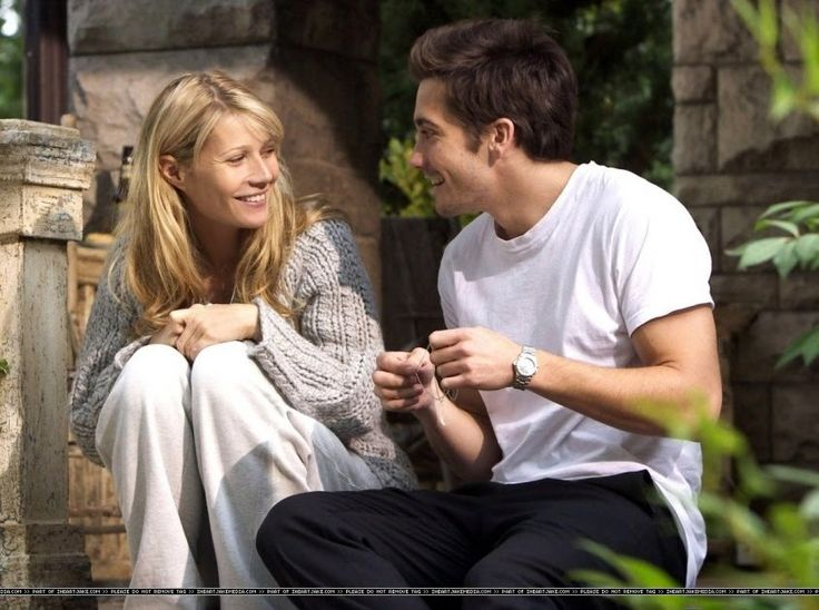 """Gwyneth Paltrow and Jake Gyllenhaal in """"Proof"""" (2005).  Look #1: Classic Trench Coat Look #2: Nautical Stripe Look #3: Ethnic Prints Look #4..."""