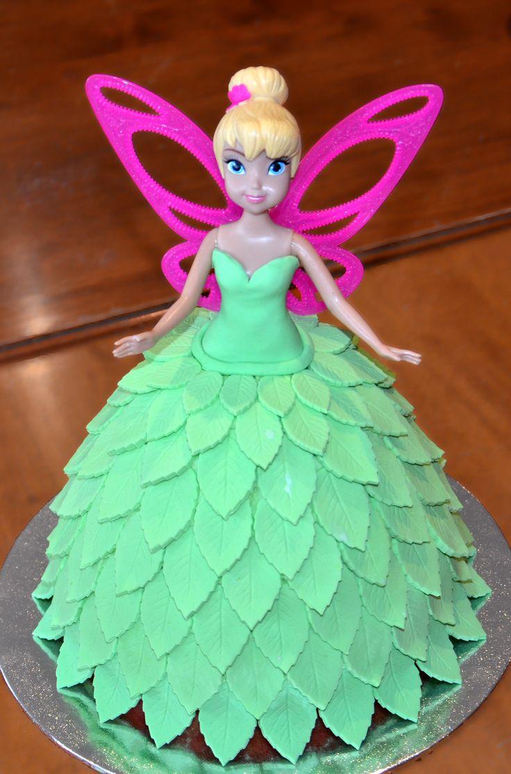 Tinkerbell Dolly Varden Cake