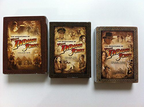 YOUNG INDIANA JONES CHRONICLES Volumes 1, 2 and 3 DVD Sets (Complete Collections All 3 Volumes DVD Sets Together)  http://www.videoonlinestore.com/young-indiana-jones-chronicles-volumes-1-2-and-3-dvd-sets-complete-collections-all-3-volumes-dvd-sets-together/
