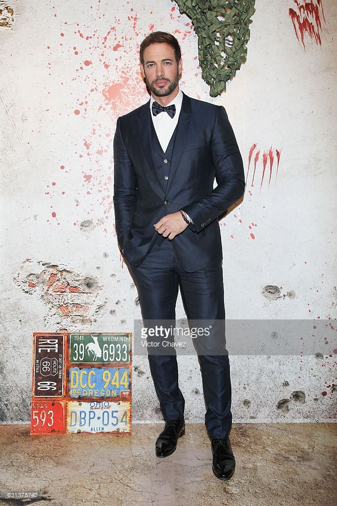 Actor William Levy attends the 'Resident Evil: The Final Chapter' Mexico City premiere at Cinemex Antara Polanco on January 9, 2017 in Mexico City, Mexico.