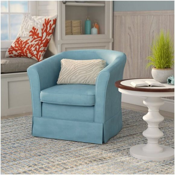99 Coastal Blue Accent Chairs Under 200 Swivel Barrel Chair Barrel Chair Blue Accent Chairs