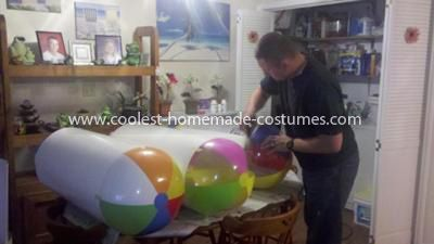 Coolest Despicable Me Minion Group Costume - Paper Mache: We care for four girls at a children's home and we wanted to dress up in a theme for Halloween. Our own daughter suggested we dress up like Despicable