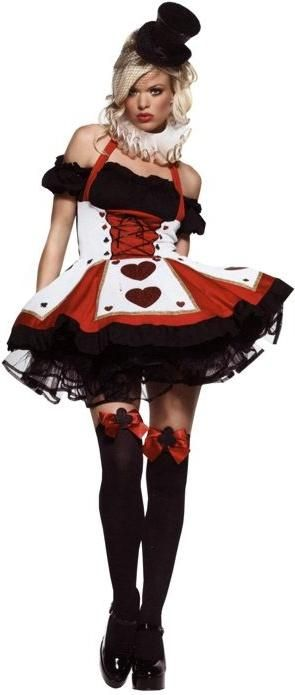 ADULT-WOMENS-SEXY-QUEEN-OF-HEARTS-BLACK-RED-HALLOWEEN-FANCY-DRESS-COSTUME