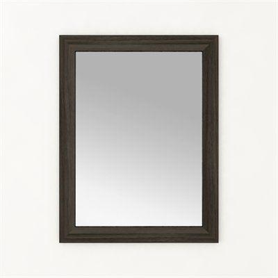 Mirror - ZAMBUKKA #mirror #lightwood #design #bathrooms #interiordesign #renovations #CutlerKitchenandBath