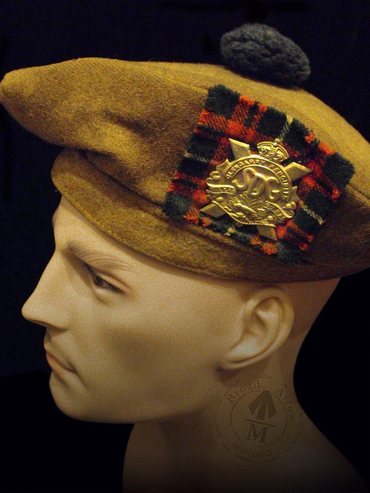 Canadian WW2 Tam O' Shanter to the Stormont, Dundas, Glengarry Highland Regiment