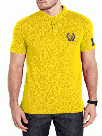 Yellow Tshirt for men