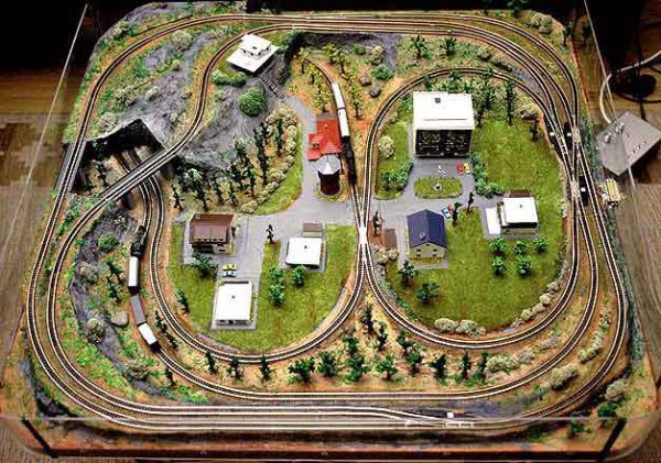 Small O Scale Layouts   Model Train Track Layout Software – ho n o scale gauge layouts Plan ...