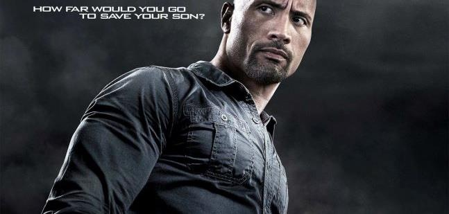 Dwayne Johnson in the new poster for Snitch Movie