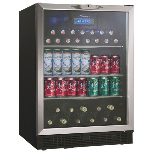 Danby Silhouette 5.3 Cu. Ft. Beverage Centre (DBC514BLS) : Wine Coolers - Best Buy Canada