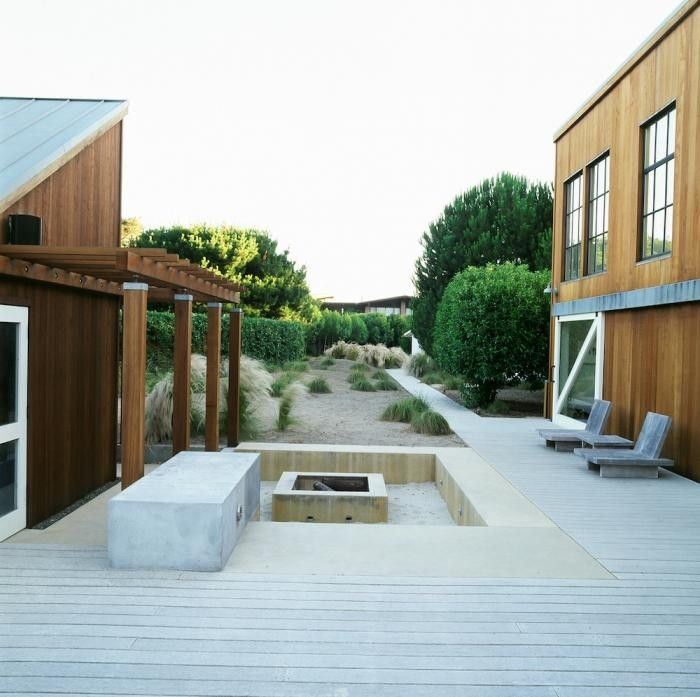 Blasen Landscape Architects: Salt And Sea And A Garden. BlasenVersunkene  FeuerstellenBeton ...