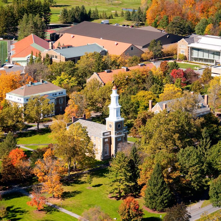 The 25 most beautiful college campuses in America - Hamilton College, Clinton, NY