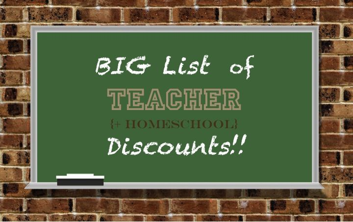 Teacher Discounts...book stores, craft stores, clothing stores, etc.!: Homeschool Educator, Homeschool Discounts, Ann Taylor Loft, Discounts Educator, Teacher Discounts, Craft Stores, Clothing Stores, Teachers, Educator Discounts
