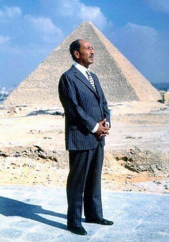 President Anwar Al Sadat