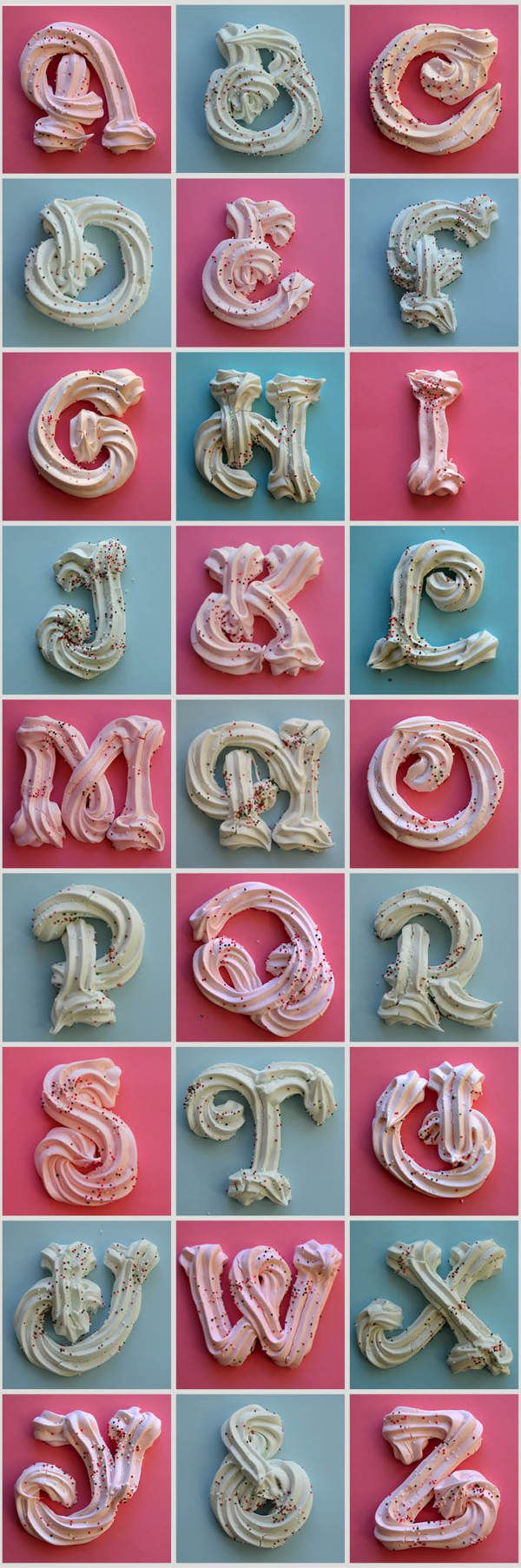 Sweet Font  [need a cook ] Merengue Type by DTM INC, via Behance