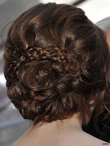 Victorian inspired  Gorgeous Up-do! A more modern twist on a potentially old-fashioned hairstyle.