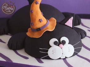 Halloween steht vor der Tür! Jetzt ist es Zeit für außergewöhnliche Kreationen! …   – Motivtorte