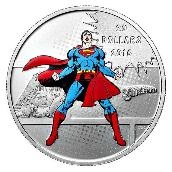 DC Comics Originals - 1 oz. Pure Silver Coloured 3-Coin Subscription (2016)