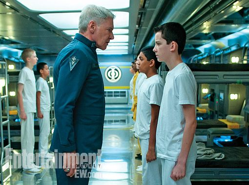 First photo still from the upcoming Ender's Game movie adaptation.