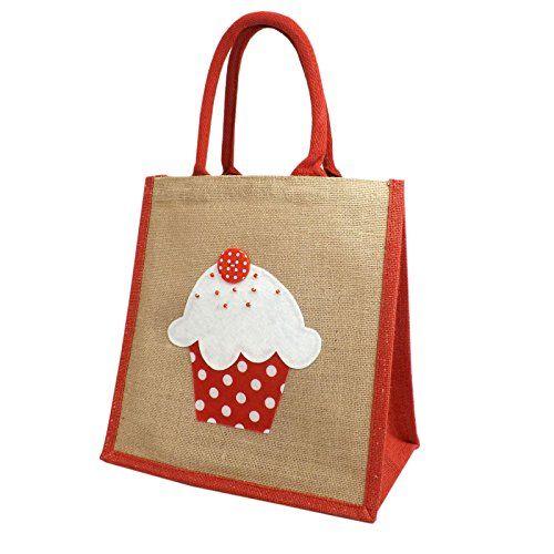 Jute Hessian Medium Shopping Bag - Cupcake Design - Red Black Pink Yellowboots http://www.amazon.co.uk/dp/B014O84OHS/ref=cm_sw_r_pi_dp_sHuLwb0K459ZY
