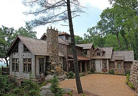 Craftsman Mountain Home Plan