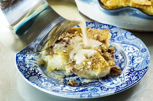Bread Pudding with Whiskey Cream Sauce (pioneer woman's recipe).. mmmmmmmm.