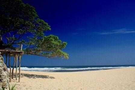 Poktunggal Beach,amazing destination on Jogja