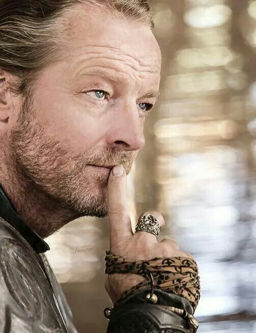 Iain Glen. Didn't fancy him when he was younger but I dam well do now!