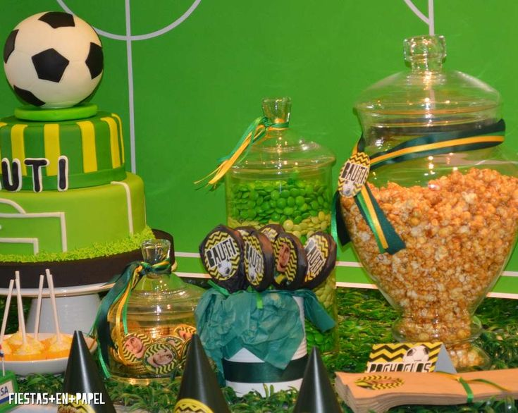 Football Birthday Party Ideas   Photo 8 of 30   Catch My Party