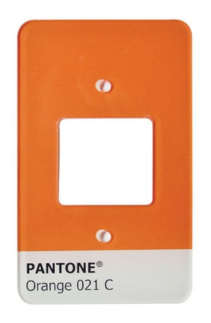 Capa para Interruptor - Pantone   2 tomadas