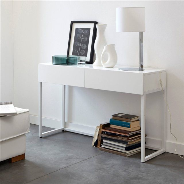 1000 ideas about console bureau on pinterest console tube acier and work - Console bureau la redoute ...