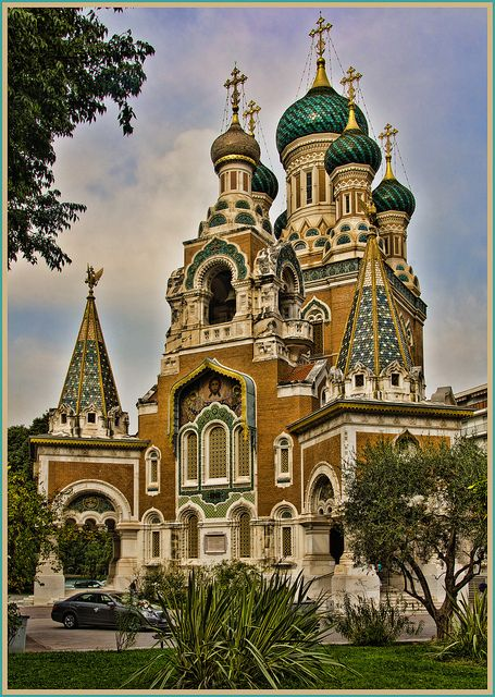 St. Nicholas Church in Nice, France! Can't believe it's been 10 years since I was there!