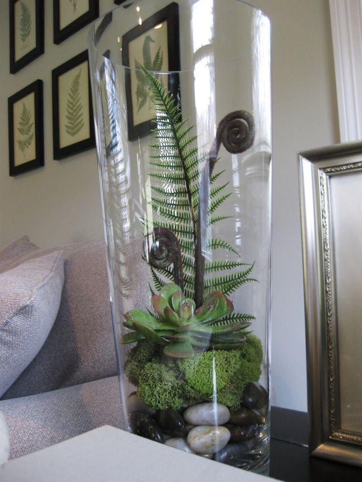 pewter+sage: DIY Faux Terrariums
