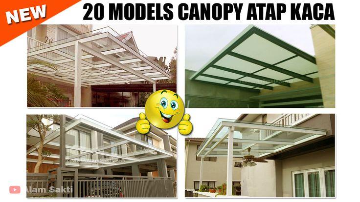 20 Contoh desain kanopi rumah minimalis serta canopy ...