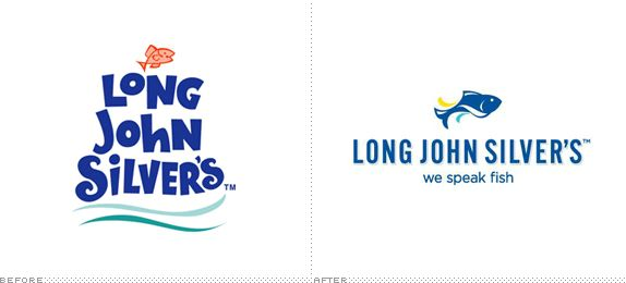 Long John Silver's logo redesign.