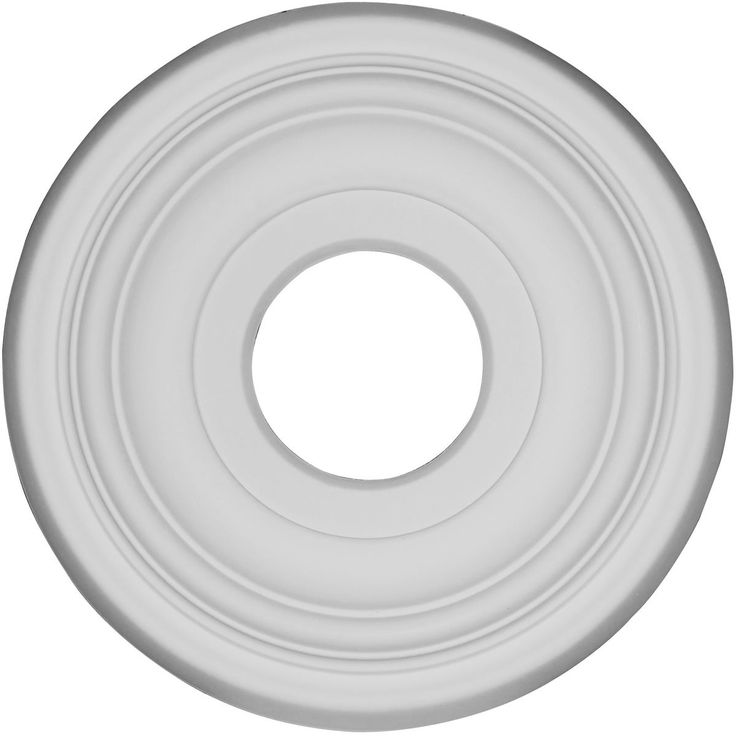 11 12inch od x 3 12inch id x 1inch p traditional ceiling medallion primed - Ceiling Medallion