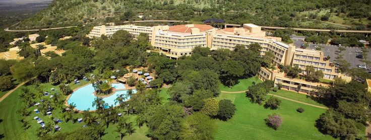 Amazing semi arial view of a hotel in South Africa