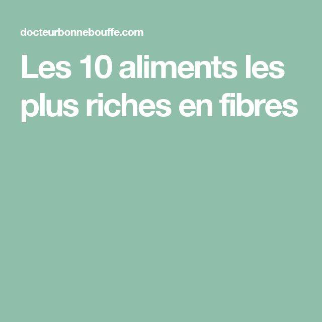 Les 25 meilleures id es de la cat gorie liste des aliments riches en fibres sur pinterest - Aliments les plus riches en fer ...