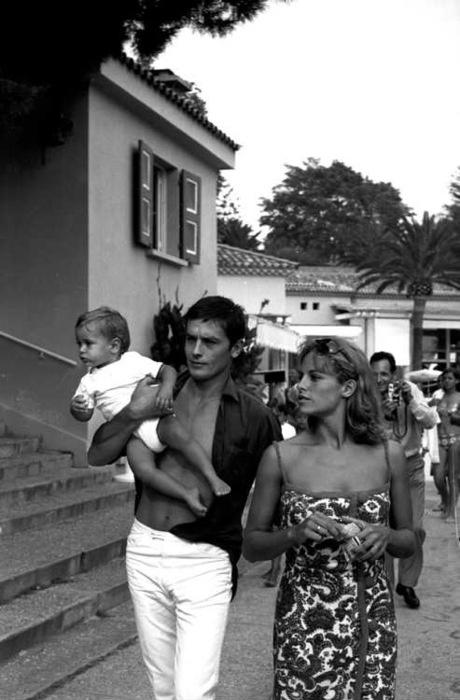 Alain & Nathalie Delon.