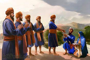 Guru Gobind Singh - Master and Disciple
