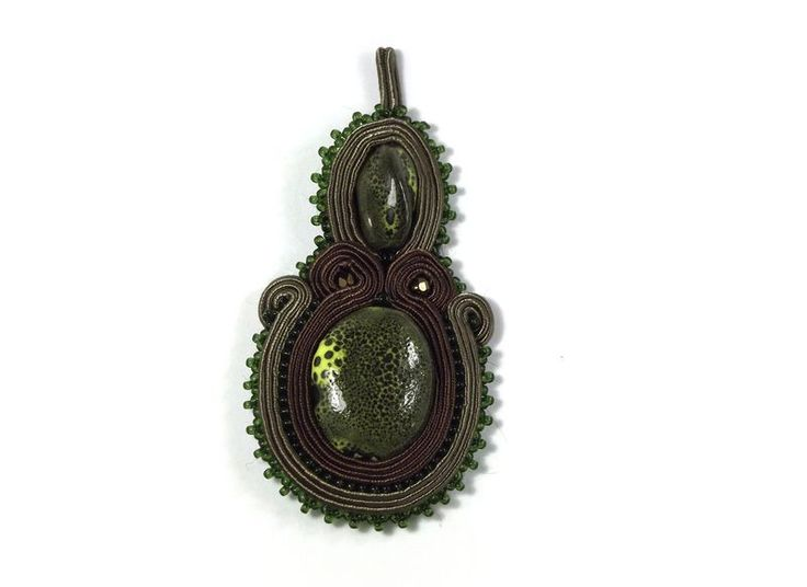 Pendants – FOREST TREE - pendant, soutache – a unique product by betulek on DaWanda  #pendant   #wisiorek    #soutache #sutasz #zawieszka   #charms     #necklace    #jewelry   #jewellery   #gift   #beauty   #trendy #instagood #fashion   #style    #handmade   #handmadejewelry   #buyhandmade   #betulek   #bybetulek   #jewel   #look
