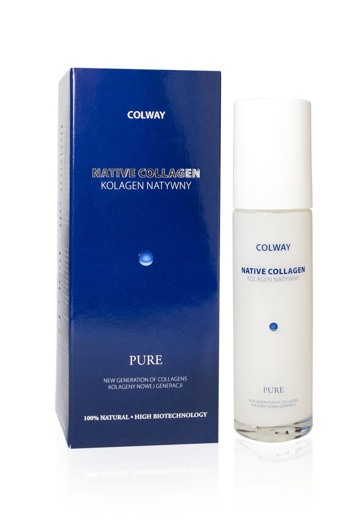 Native Collagen Pure  -  a new generation of collagen's cosmetics. Completely natural. An unique gift of nature, a gel formed by fish collagen molecules.