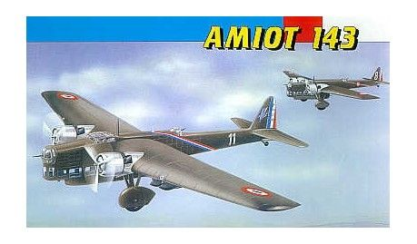 Smer - 845 - Maquette d'avion / Aircraft Model kit - Amiot 143 - 1/72 -