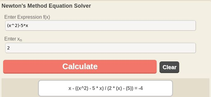 Find the solution to the sqaure root of real valued function using Newton-Raphson Method Calculator.