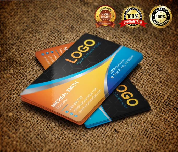Design Creative Business Card Within 24 Hour Business Cards Creative Graphic Design Services Fiverr