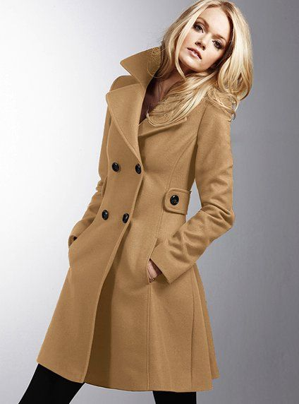 Wool Side Tab Coat Victoria S Secret Cloak And