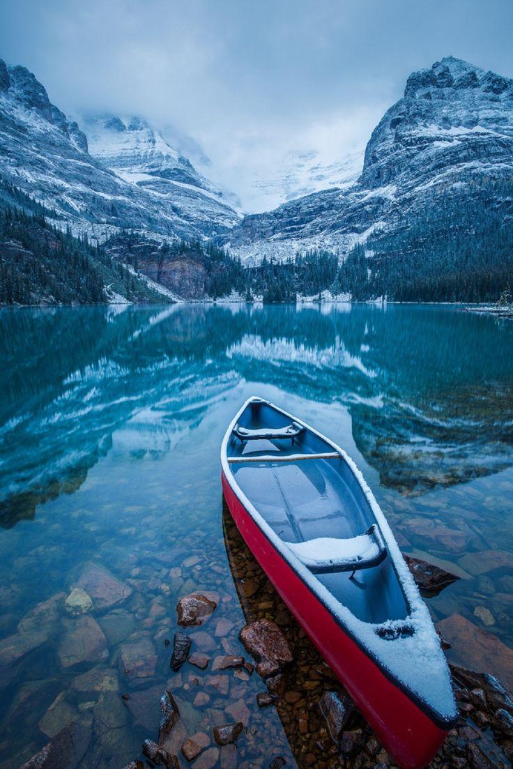 Yoho National Park, Lake O'Hara, British Columbia, Canada.