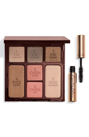 Achieve a gorgeous look in just 5 minutes with this 'Instant Beauty' palette from Charlotte Tilbury.