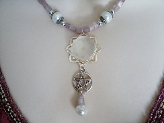 Avalon Dawn Pentacle Necklace, wiccan jewelry pagan jewelry wicca jewelry witch…