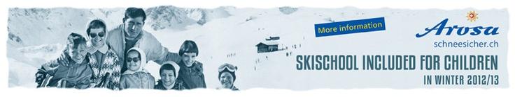 Arosa iski resort - swiss alps